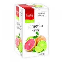 APOTHEKE Limetka a grep 20 sáčků