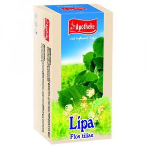 APOTHEKE Lípa čaj 20x 1,5 g
