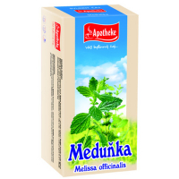 APOTHEKE Meduňka lékařská čaj 20 sáčků