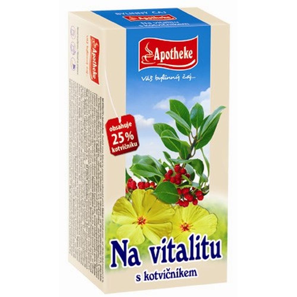 APOTHEKE Na vitalitu s kotvičníkem čaj 20x2g