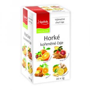 APOTHEKE Horké kořeněné čaje 4v1 20x2 g
