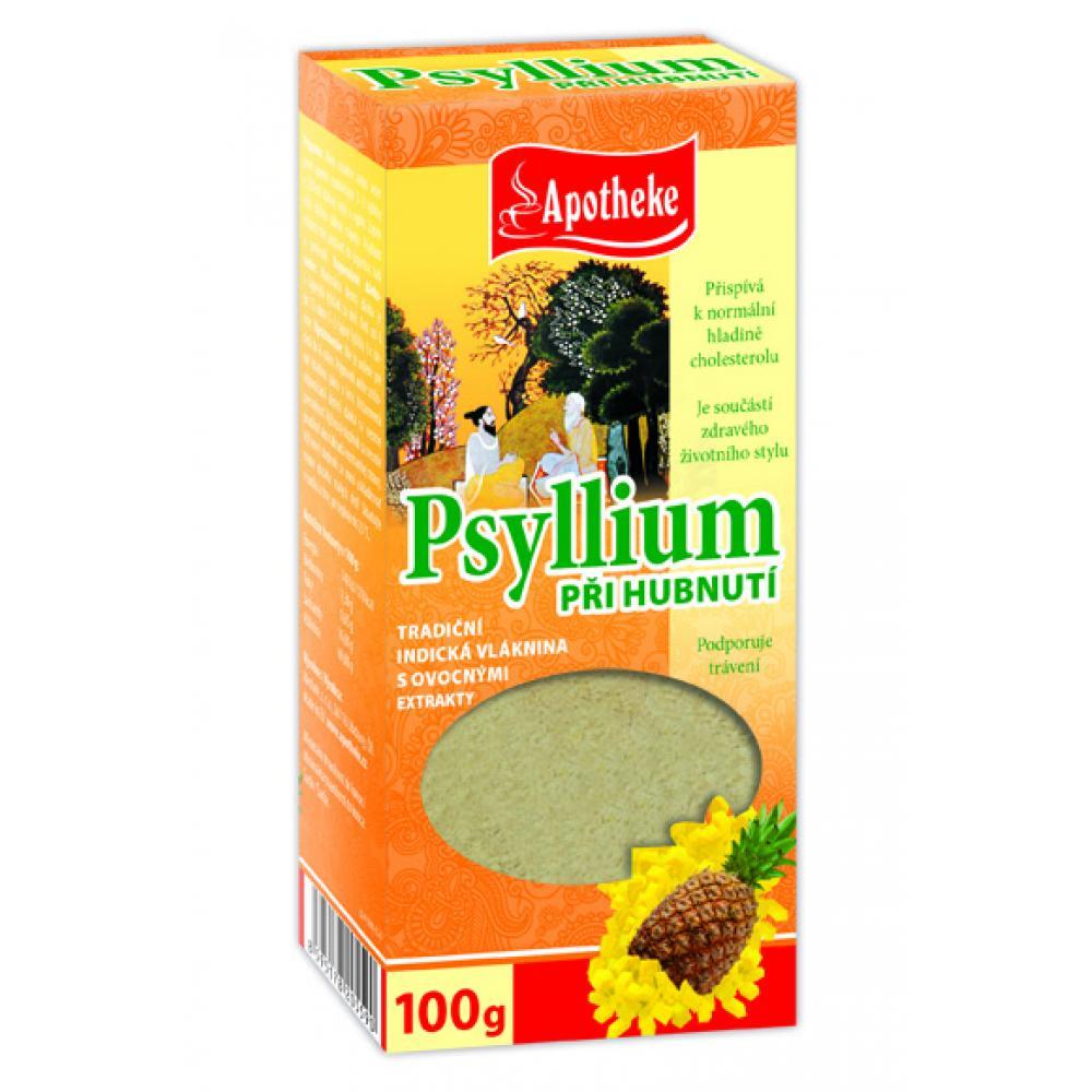 Apotheke Psyllium s ananasem 100g