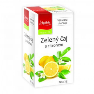 APOTHEKE Zelený čaj s citronem 20x2 g