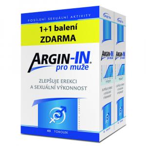 ARGIN-IN pro muže 45 tobolek 1+1 balení ZDARMA