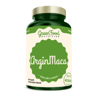 GREENFOOD NUTRITION Argin maca 60 kapslí