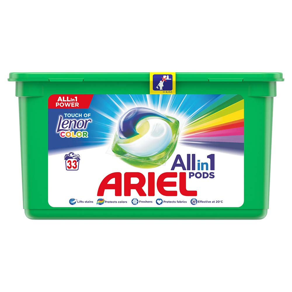 ARIEL Allin1 kapsle Touch of Lenor Fresh 33 PD