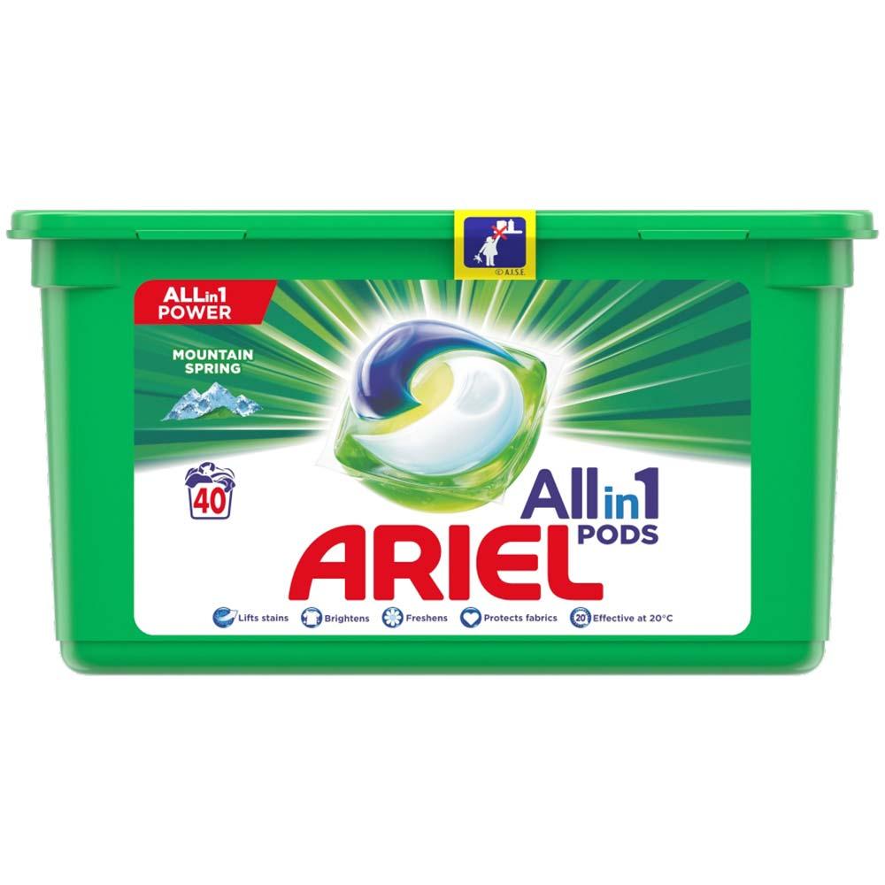 ARIEL Allin1 Pods Mountain Spring Kapsle Na Praní 40 Praní