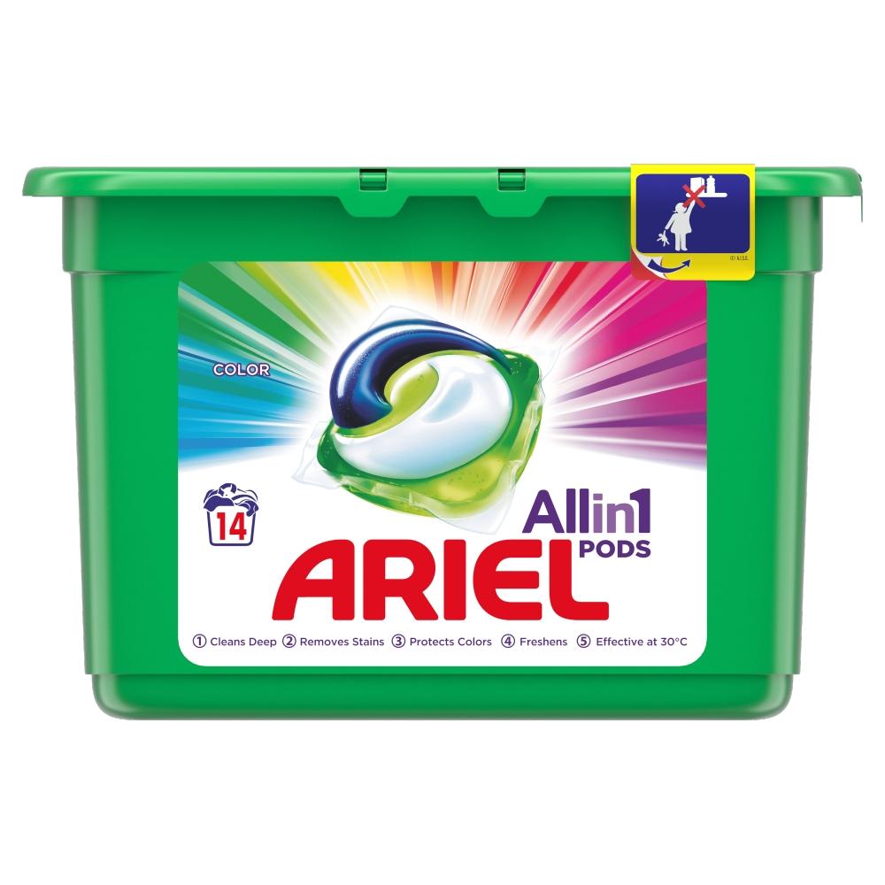ARIEL Allin1 Pods Color Kapsle na praní 14 praní