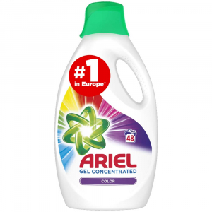 ARIEL Color Reveal Tekutý Prací Prostředek 2,64 l 48 Praní