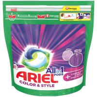 ARIEL Allin1 Color & Style + Complete Fiber Protection Kapsle na praní 41 PD