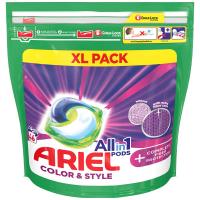 ARIEL Allin1 Color & Style + Complete Fiber Protection Kapsle na praní 46 PD
