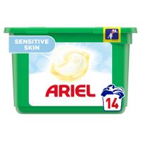 ARIEL  Allin1 Pods Sensitive Kapsle Na Praní 14 Praní
