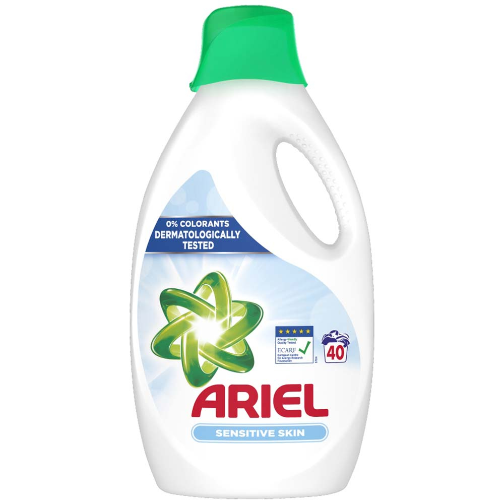 Ariel gel Sensitive 2,6l pracích dávek 40