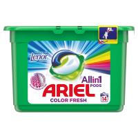ARIEL Allin1 Pods Touch Of Lenor Fresh Color Kapsle na praní 14 praní