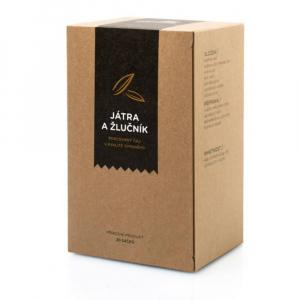 AROMATICA Bylinný čaj Játra a Žlučník 20 sáčků x 2g