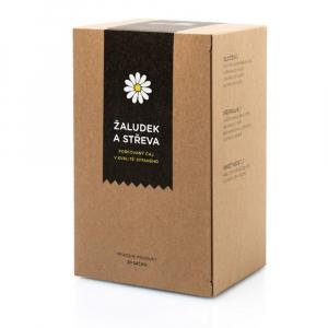 AROMATICA Bylinný čaj Žaludek a střeva 20 sáčků x 2g