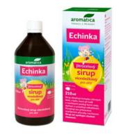 AROMATICA Sirup jitrocelový Echinka s echinaceou pro děti od 3 let 210 ml