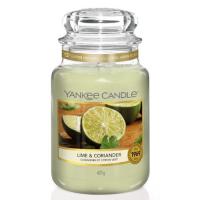 YANKEE CANDLE Classic velká Svíčka Lime & Coriander 623 g