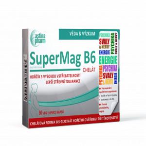 ASTINA SuperMag B6 chelát 30 kapslí