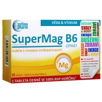 ASTINA SuperMag B6 citrát 60 tablet