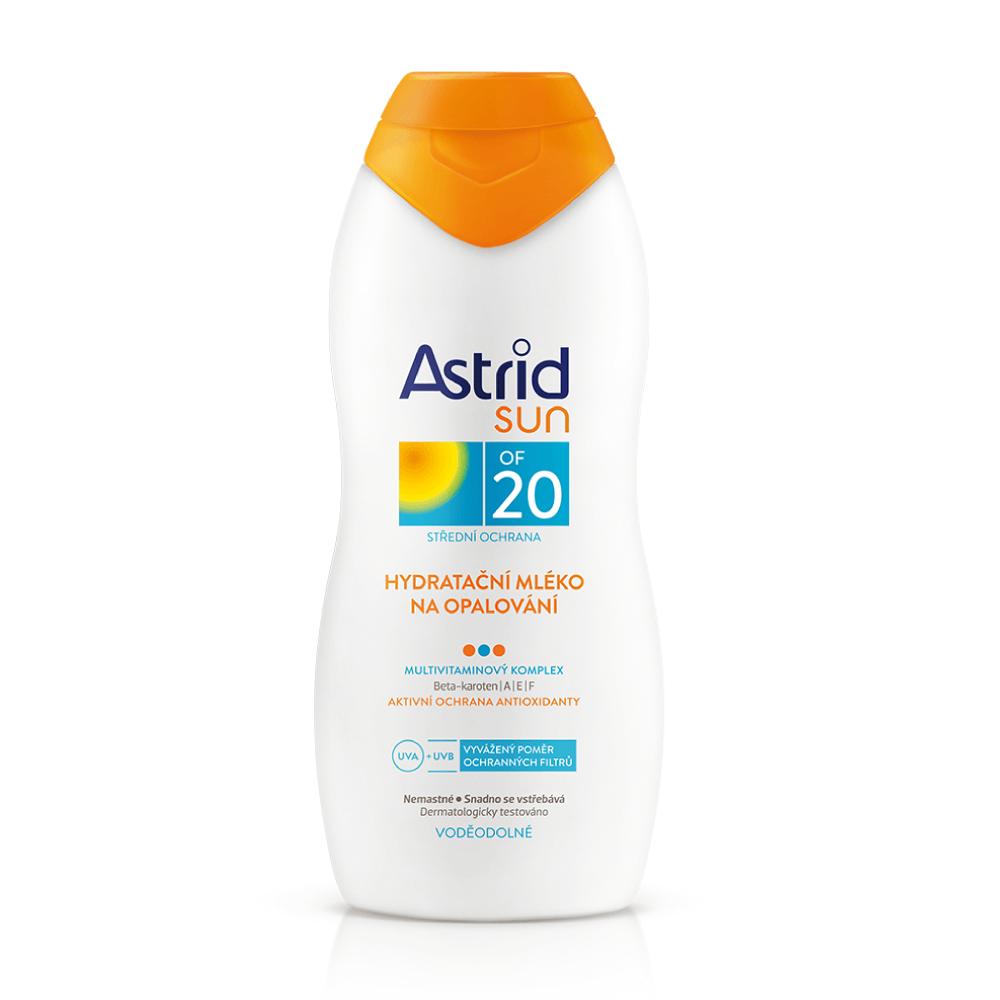 ASTRID Sun Hydratační mléko na opalování OF 20 200 ml