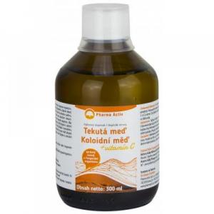 PHARMA ACTIV Koloidní měď + vitamín C 300 ml