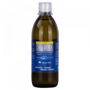 PHARMA ACTIV Koloidní stříbro Ag 100 40 ppm 500 ml