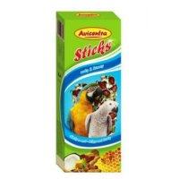 AVICENTRA tyčinky velký papoušek - ořech + kokos 2 kusy