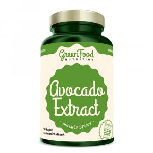 GREENFOOD NUTRITION Avocado extract 90 kapslí