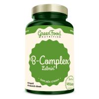 GREENFOOD NUTRITION B-komplex lalmin 60 kapslí