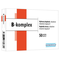 GENERICA B-komplex 50 kapslí