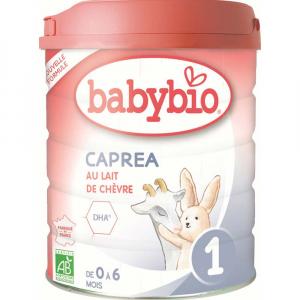 BABYBIO Caprea 1 Počáteční plnotučné kozí kojenecké mléko od 0-6 měsíců 800 g