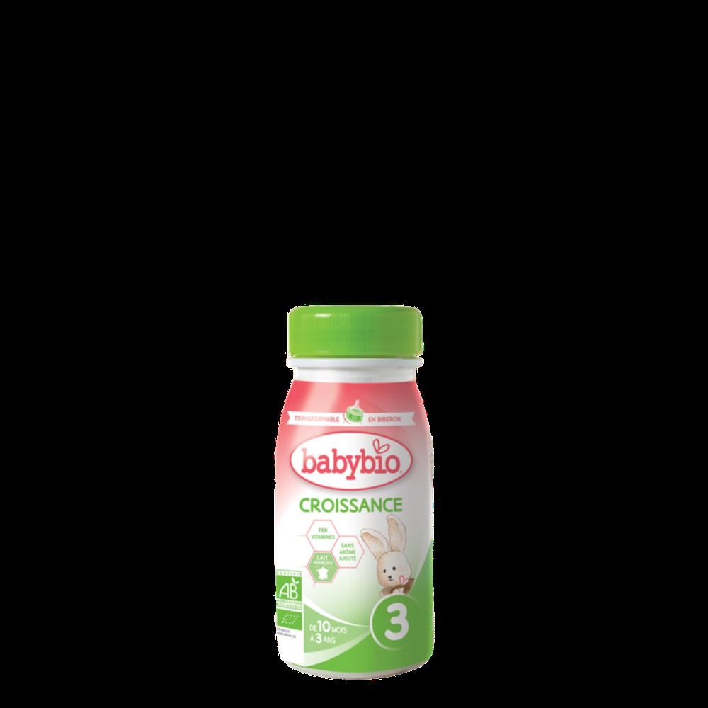 BABYBIO CROISSANCE 3 tekuté kojenecké bio mléko 0,25l