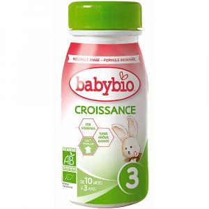 BABYBIO Croissance 3 Tekuté růstové mléko 250 ml