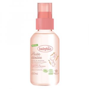 BABYBIO Masážní olejíček pro miminka od narození BIO 100 ml