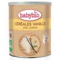 BABYBIO Nemléčná rýžovoquinoová kaše s vanilkou 220 g