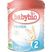 BABYBIO Primae 2 Pokračovací kojenecké mléko od 6-12 měsíců BIO 800 g