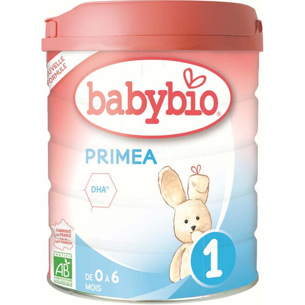 BABYBIO Primea 1 Počáteční kojenecké mléko od 0-6 měsíců BIO 800 g