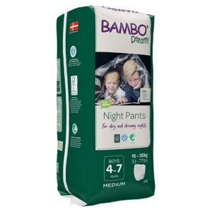 BAMBO Dreamy Night Pants 4 až 7 let Boy 15-35 kg 10 ks