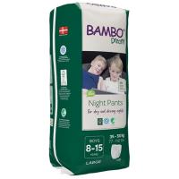 BAMBO Dreamy Night Pants 8 až 15 let Boy 35-50 kg 10 ks