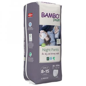 BAMBO Dreamy Night Pants 8 až 15 let Girl 35-50 kg 10 ks