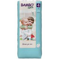 BAMBO Nature 4 Dětské pleny 7-14 kg 48 ks