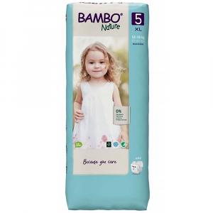 BAMBO Nature 5 Dětské plenkové kalhotky 12-18 kg 44 ks