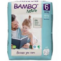 BAMBO Nature 6 Dětské plenkové kalhotky 16+ kg 40 ks
