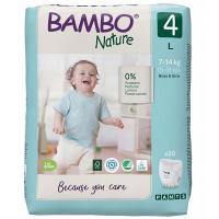 BAMBO Nature Pants 4 Navlékací treninkové plenkové kalhotky 7-14 kg 20 ks