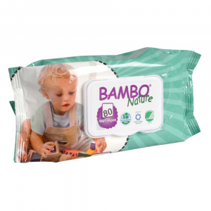 BAMBO Nature vlhčené ubrousky 80 ks