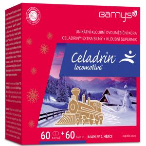 BARNY´S Celadrin Locomotive 60 tablet + 60 kapslí ZDARMA