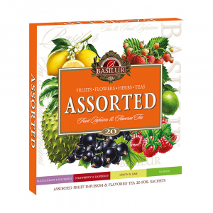 BASILUR Assorted Fruit & Flavoured Tea 20 sáčků