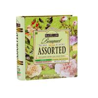 BASILUR Book assorted bouquet zelený čaj 32 sáčků