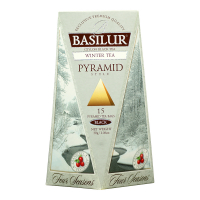BASILUR Four Seasons Winter Tea pyramid černý čaj 15 sáčků